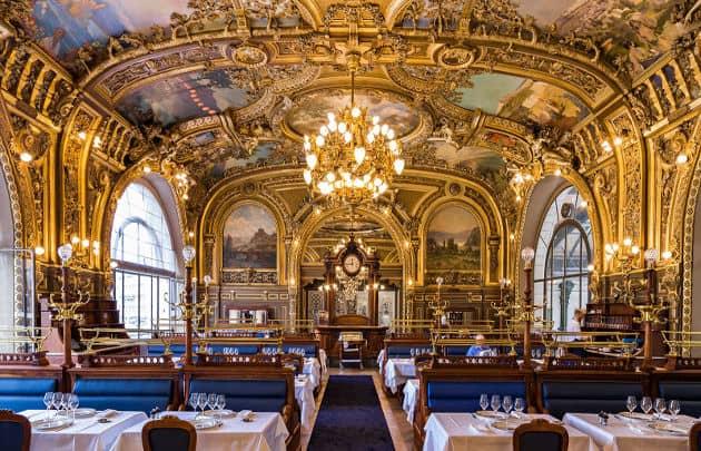 Restoran terkenal dunia di Stasiun kereta