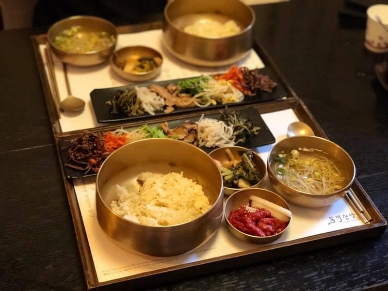 Bimbibap paling enak di Seoul