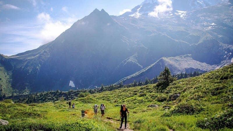 Jalur Pendakian di Eropa