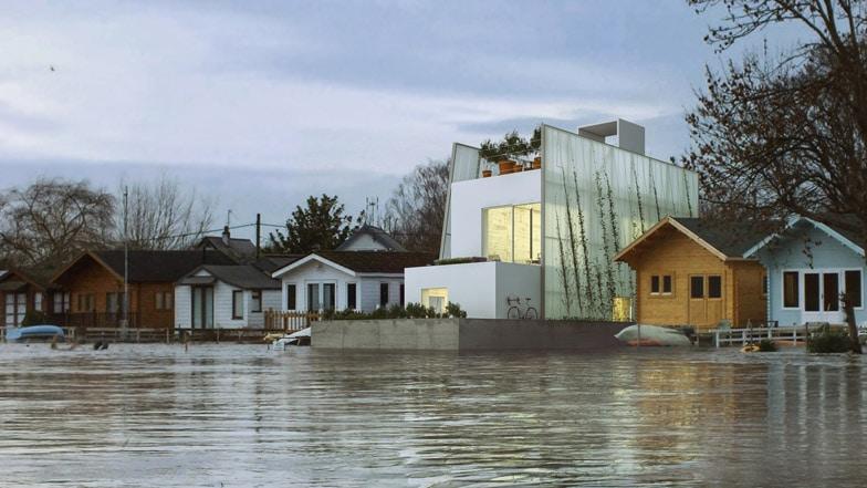 Carl Turner Floating House Concept