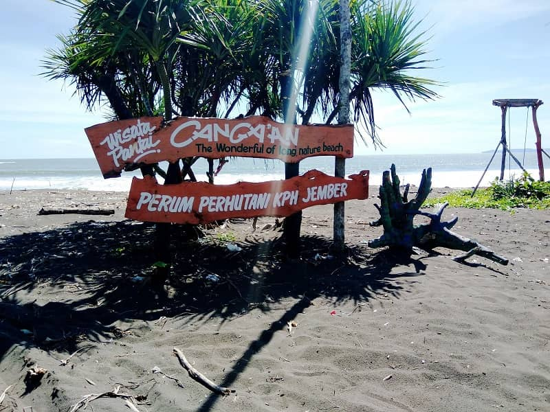 pantai  Cangaan Ungkalan