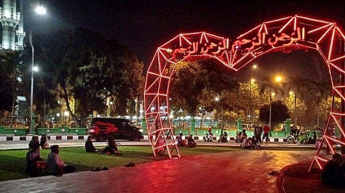 Taman di Tangerang untuk keluarga