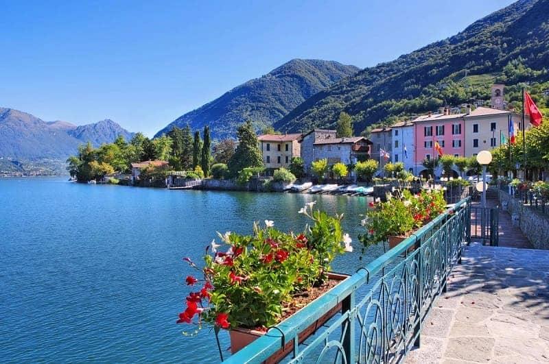Danau Lugano Italia