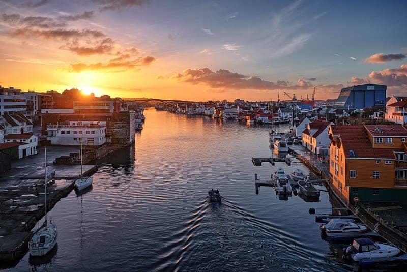 Kota terindah di Norwegia