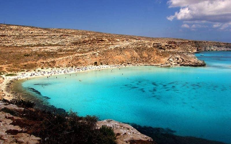 Rabbit Beach Lampedusa Italia