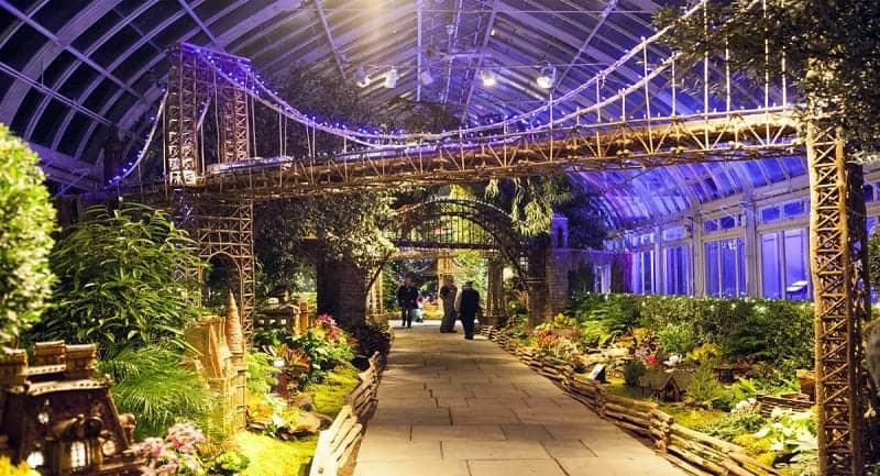 New York Botanical Gardens Amerika Serikat