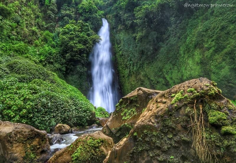 Air Terjun di Banjarnegara