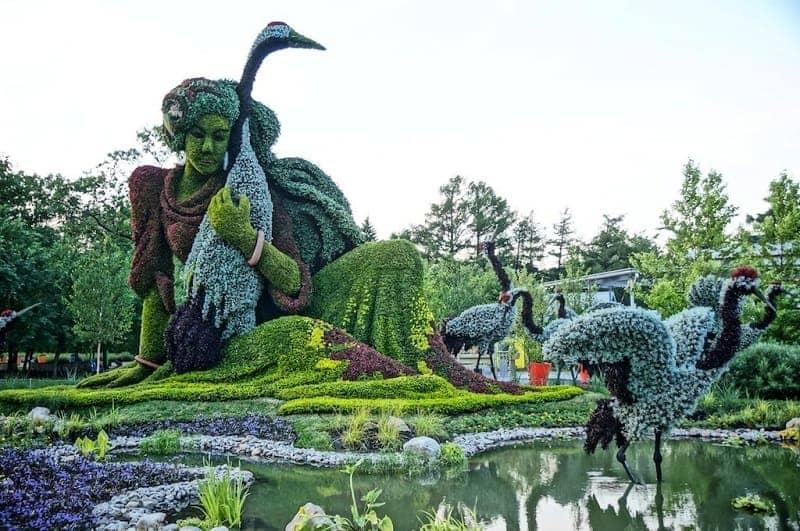 Jardin Botanique de Montreal Kanada