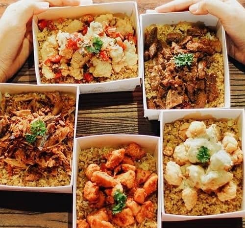 Rice Bowl terkenal di Jakarta