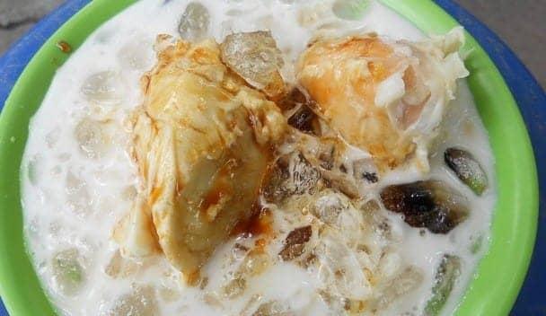 es kolak durian medan