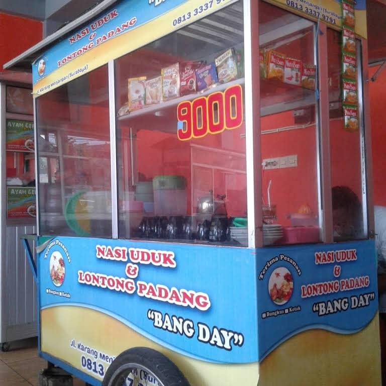 uduk rice bang day