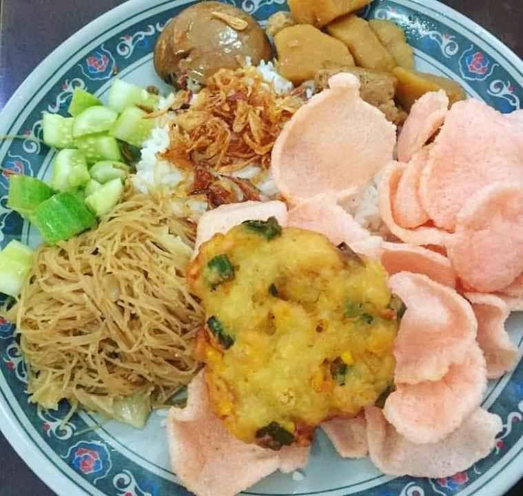 Delicious rice uduk in Tangerang