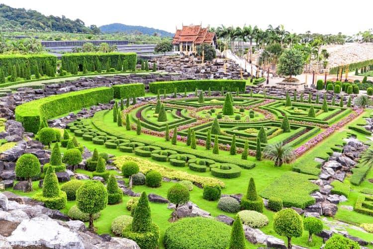 Taman Botani Nong Nooch - Thailand