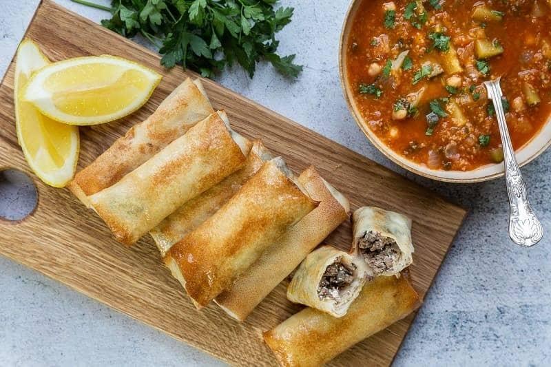 Borek Makanan Khas Aljazair
