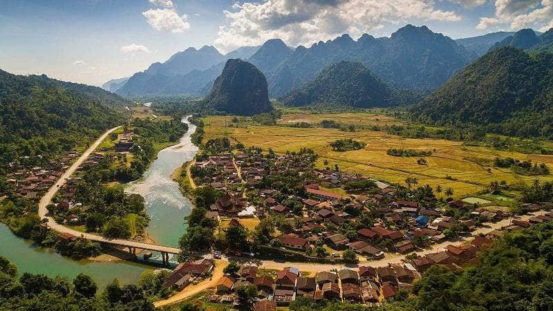 Phou Khao Khuoay National Park