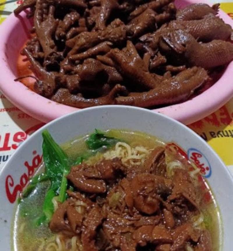 mie ayam ceker enak di Surabaya
