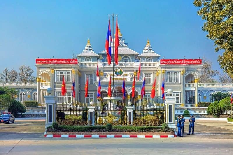 he Presidential Palace