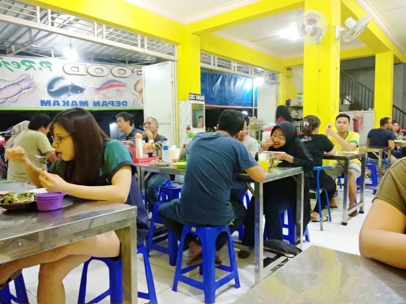 Warung Seafood Pak Rejo